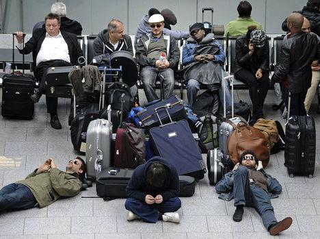 düsseldorfi repülőtéren ápr. 16.