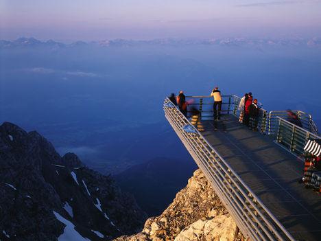 A Skywalk kilátó, Ramsau am Dachstein