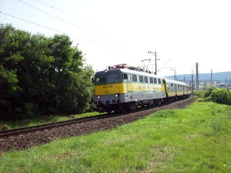 A vasút és a TV torony