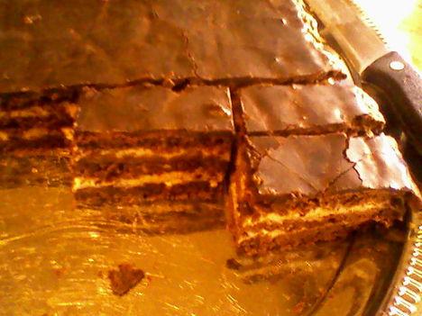 Rumos csokis szelet