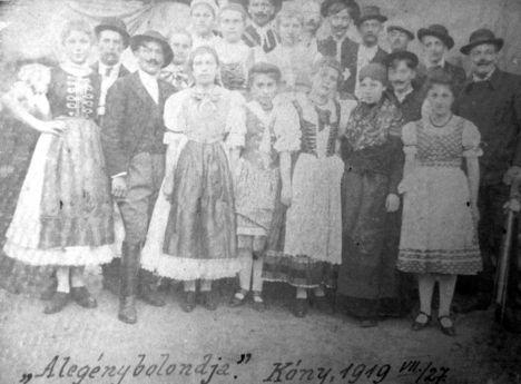 1919. színjátszók