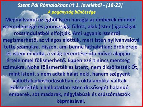 Idézet Szent Pál leveleiből 001