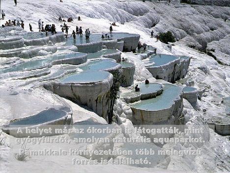 Pamukkále  Törökörszág.