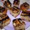tigrismintás sütemény (kocka)