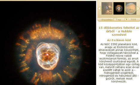 döbbenetes felvétel az űrből - a Hubble szemével - femina