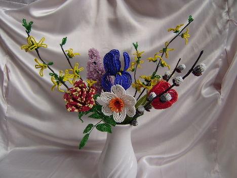 Virágok a kertből