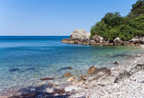 Bar Montenegro tengerpart