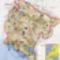 Montenegro túrista térkéo