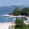 Tivat városi strandja