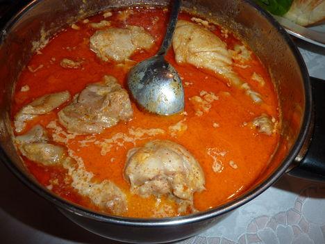 Csirke paprikás