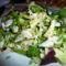Gyönyörű vegyes saláta