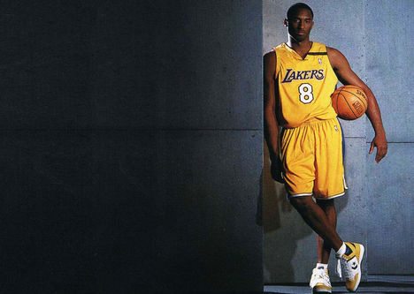 Kobe Bryant Lakers háttérkép