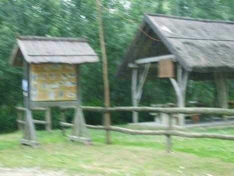 Táborozó hely a Mosoni-Duna partján