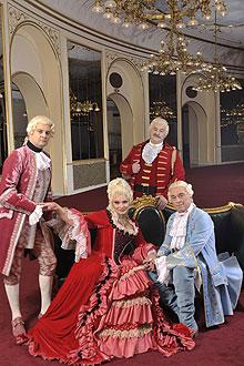 Madam Pompadur főprobáján az Operett szinházban 8
