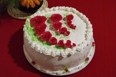 Tejszinhabos torta