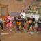 anyáknapi köszöntő zenészei a templomban