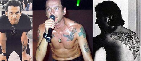 Dave Gahan (Depeche Mode) Tetoválás Képek