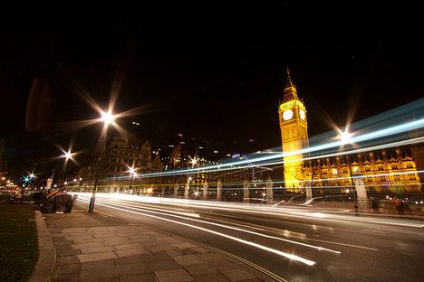 A Big Ben éjszaka 2