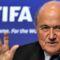 Foci VB 2010 - Joseph S. Blatter FIFA elnök gesztikulál