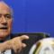 Foci VB 2010 - Joseph S. Blatter FIFA elnök ujjal odabök