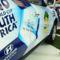 Foci VB 2010 - Már egy Hyundai Santa Fe oldalán is díszeleg a reklám