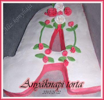 Anyáknapi torta