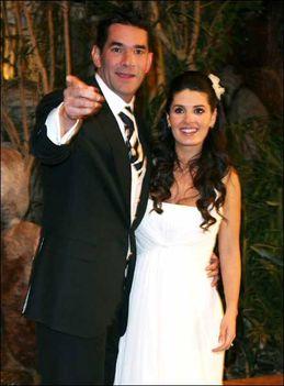 Eduardo Santamarina és felesége