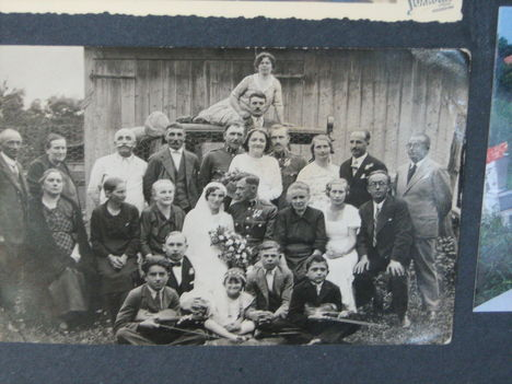 Balogh Ida és Bognár István esküvője1933-ban