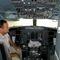 ferihegy belülről Malév gép pilótafülke