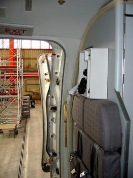 ferihegy belülről Malév gépből exit