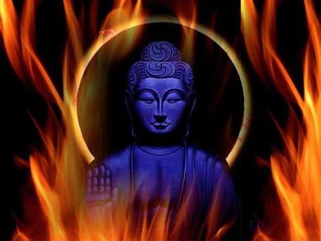 Tűz Buddha 1 (Small)