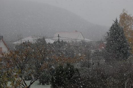 Villabarát az első hóesésben 2.