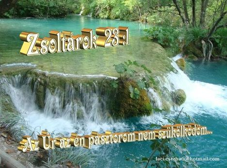Zsoltárok  23 - 1.