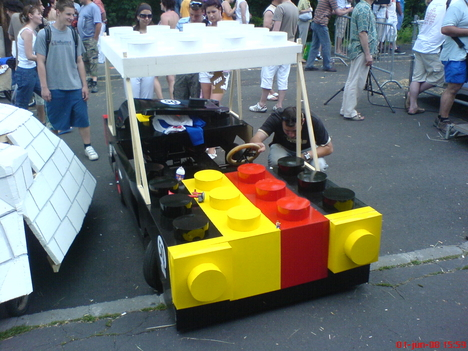 LEGO-mobil