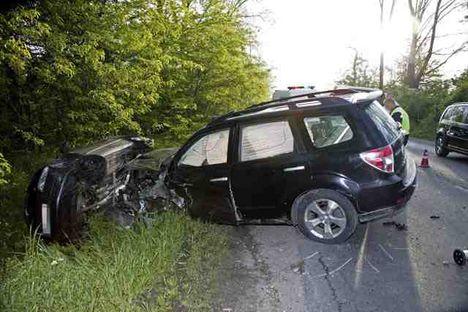 Fotó a baleset helyszínéről