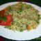 Rizses, zöldséges csirkemáj