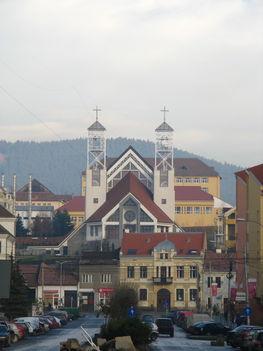 Szent Ágoston templom Csikszereda