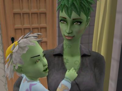 Greemanné és gyermeke