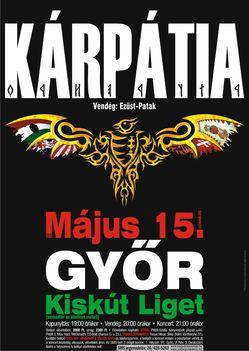 Koncert Győr 2010. május 15.