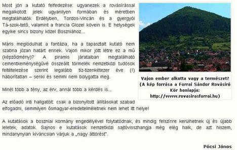 Bosnyák piramis 2