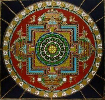 MANDALA Tradicionalis+buddhista+