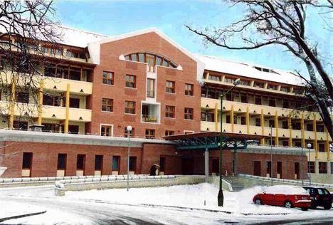 Semmelweis kórház Miskolc belgyógyászat új szárnya
