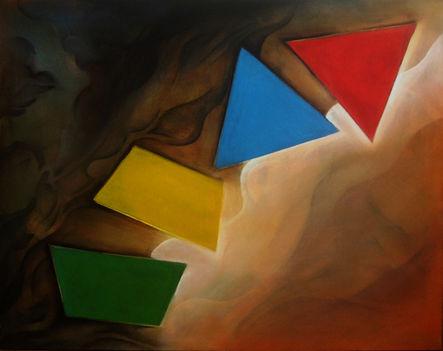 Négy (80 x 100) akril - vászon