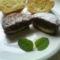töltött csokis muffin