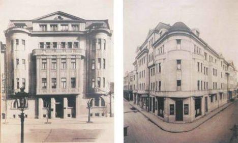 Városi bérház. Szentháromság utca 4