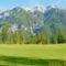 legelő és a hegyek