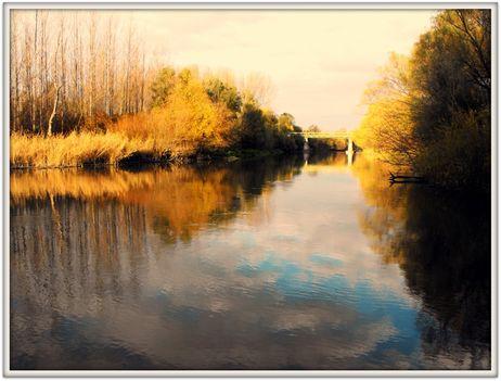 Az öreg hídnál....(FOTÓ)   /Claude Monet után szabadon/