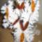 47. borostyán-narancs szinű hosszú lánc