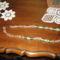 48. zöld arany fóliás lámpagyöngy nyaklánc