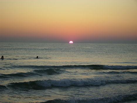 Tunézia Sousse-i naplemente